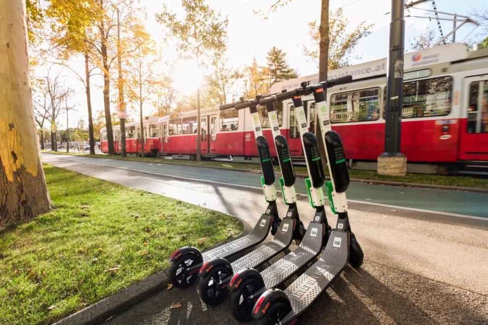Wien Scooter-Sharing Tretroller-Sharing Wiener Linien CC0