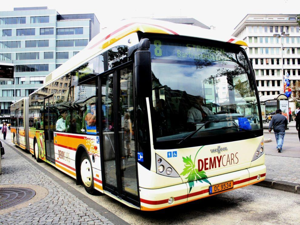 Bus in Luxemburg