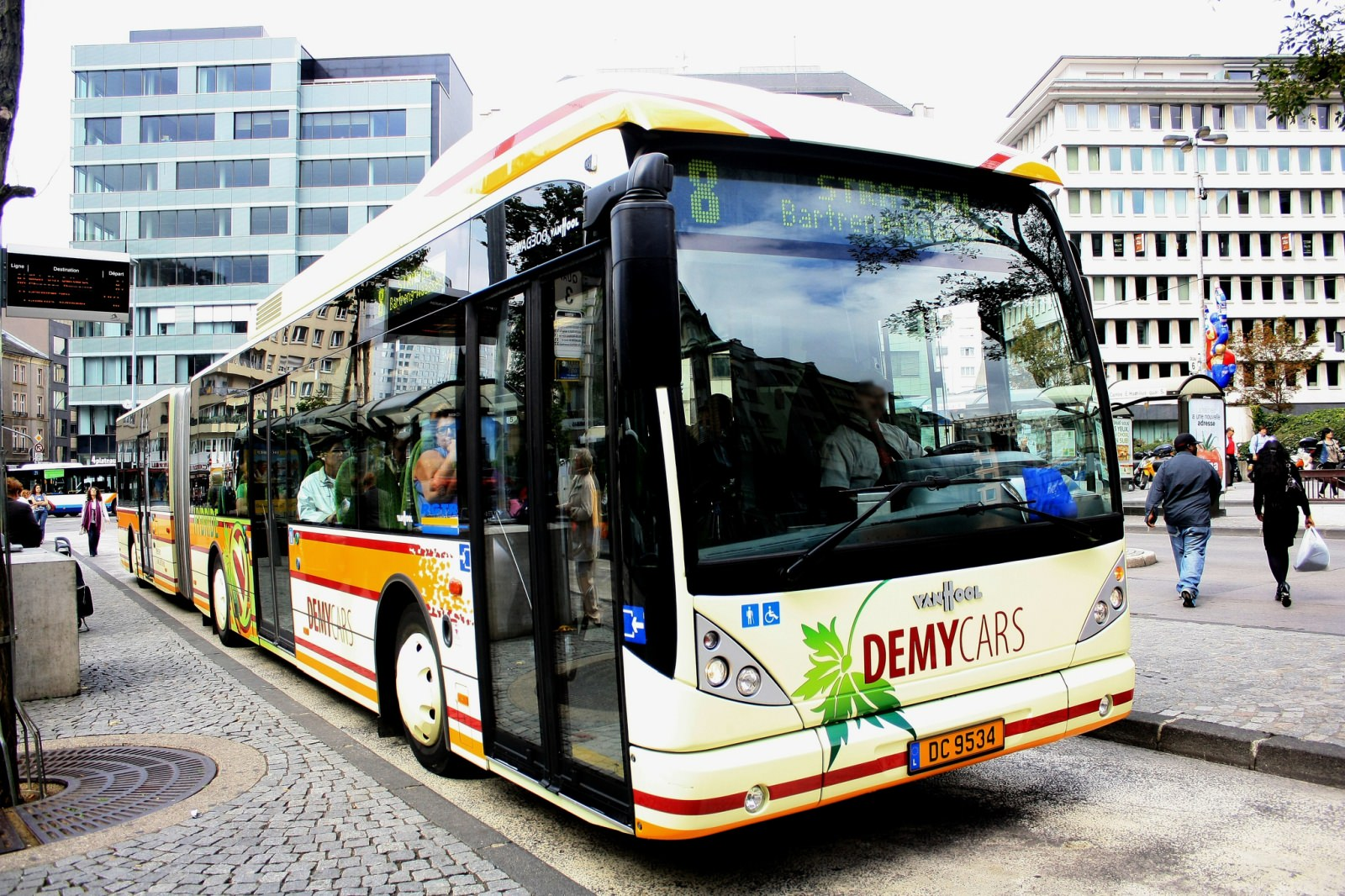 Bus in Luxemburg